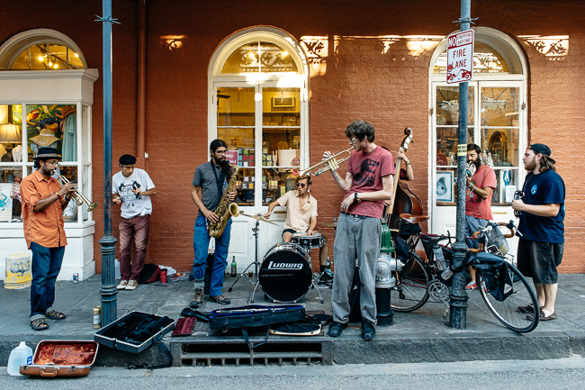Street Nola Jazz Band