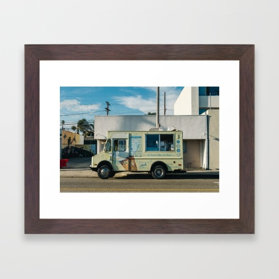 sunset-on-venice-beach-qht-framed-prints