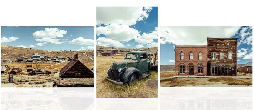 Bodie the ghost town